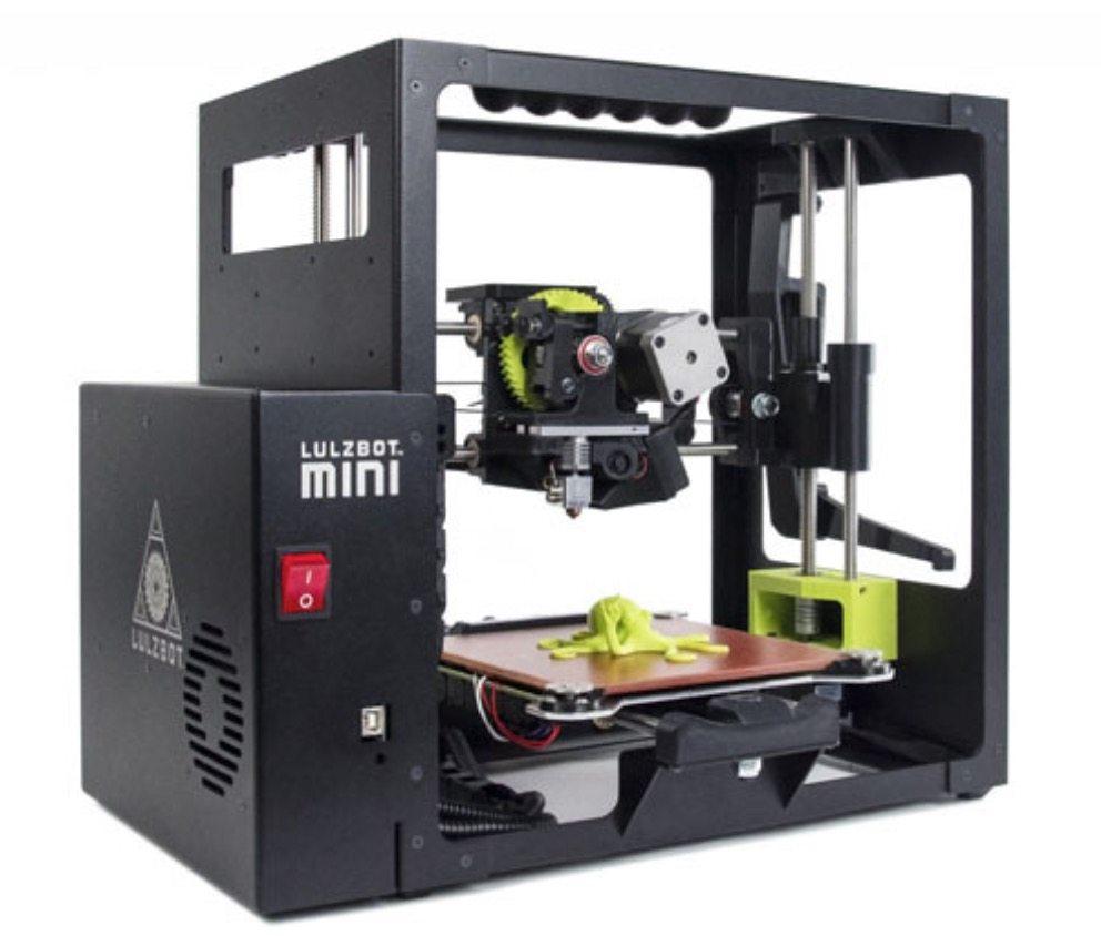 lulzbot 3d printer in full form